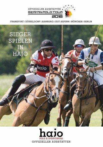 Sieger spielen in hajo - Die German Polo Tour 2018