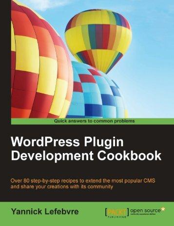 WordPress Plugin Development Cookbook [eBook]