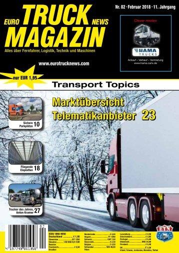 Euro Truck News Digital Nr. 02/2018