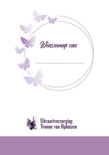 Wensenmap - nieuwe versie