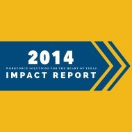 2014 Impact Report