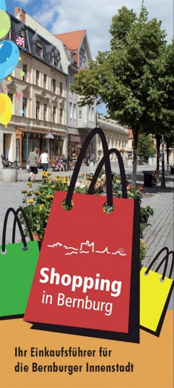 Shopping in Bernburg