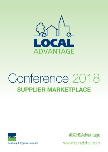 BCHS Conference 2018 Supplier Marketplace