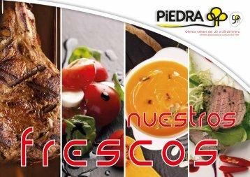 Supermercados PIEDRA ofertas frescos y pescadería hasta 29 de enero 2018