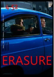 4.52am Issue: 068 The Erasure Edition  25th January 2018