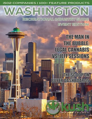 Kush Guide - Washington Industry Guide Volume 2 - Event Edition