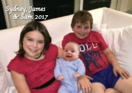 Sydney, James & Sam 2017