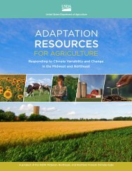 Adaptation Resources for Agriculture