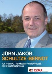 Jürn Jakob Schultze-berndt - CDU Reinickendorf