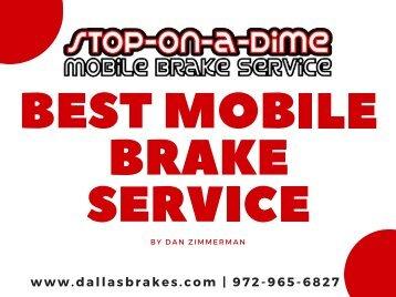 Best Mobile Brake Service