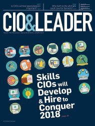 CIO & LEADER-Issue-10-January 2018 (1)