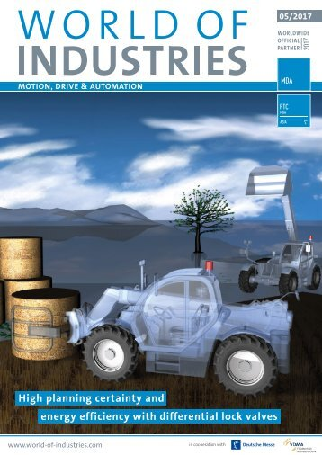 WORLD OF INDUSTRIES - MOTION, DRIVE & AUTOMATION 5/2017