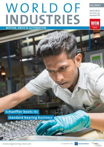 WORLD OF INDUSTRIES - MOTION, DRIVE & AUTOMATION 1/2017