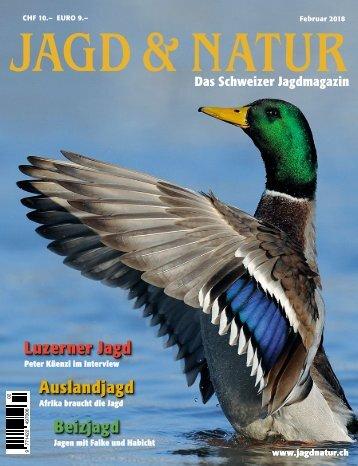 Jagd & Natur Ausgabe Februar 2018 | Vorschau