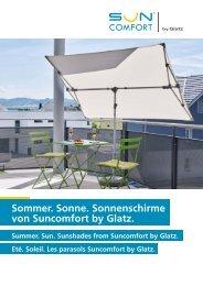 Glatz Broschüre Suncomfort 2018