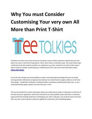 5 t shirt printing