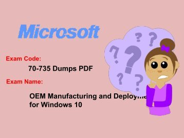 Free Microsoft 70-735 Exam Question - 100% Passing Assurance