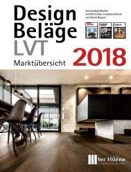 Designbeläge 2018