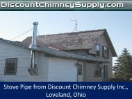 Buy Stove Pipe from Discount Chimney Supply Inc., Loveland, OH
