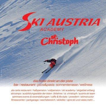Ski Austria Folder 2018