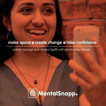 Mental Snapp launch brochure