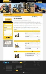 Lifted Trucks UAE - CAT Forlifts for Sale UAE - Forklift Truck