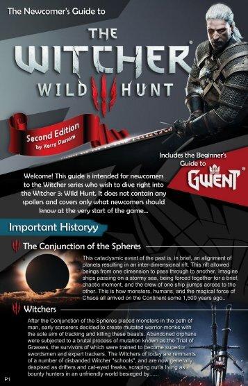 The Witcher -  Wild Hunt