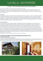 La Villa Sommer Aktivreise - Seite 2