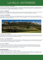 La Villa Sommer Aktivreise - Seite 3