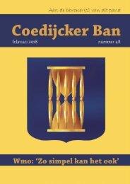 Coedijcker Ban febr 2018