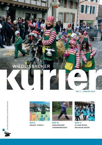 Wiedlisbacher Kurier 1/2013