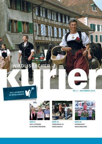 Wiedlisbacher Kurier 4/2013