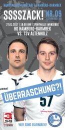 SSSSZACK! HGHB vs. TSV Altenholz