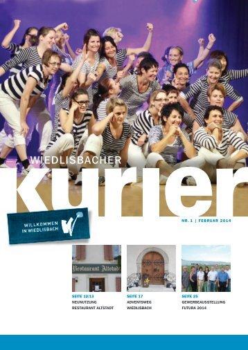 Wiedlisbacher Kurier 1/2014