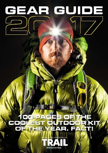 Trail Gear Guide 2017