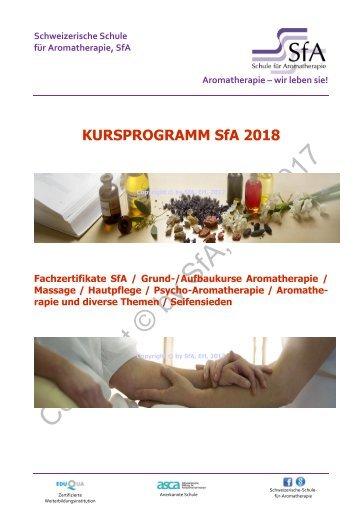 Kursprogramm 2018