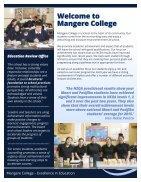 Mangere College Prospectus 2018  - Page 2