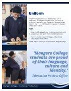 Mangere College Prospectus 2018  - Page 4