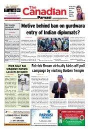 The Canadian Parvasi - Issue 27