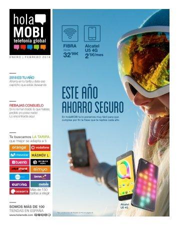 holaMOBI telefonia global revista ofertas hasta 28 de febrero 2018