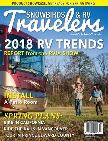 2018 151 Snowbirds & RV Travelers - Feb/March