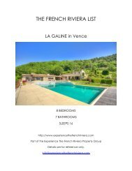 La Galine - Vence