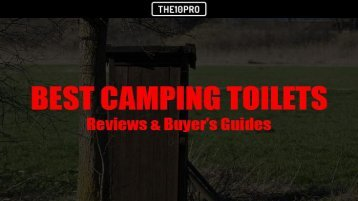 Top 9 Best Camping Toilets in 2018 Reviews