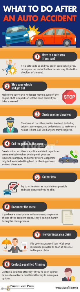 What Should You Do After An Auto Accident