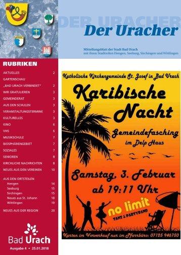 Der Uracher KW 04-2018