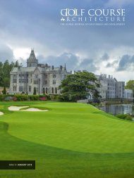 Golf Course Architecture - Issue51