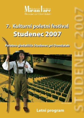 Studenec 2007
