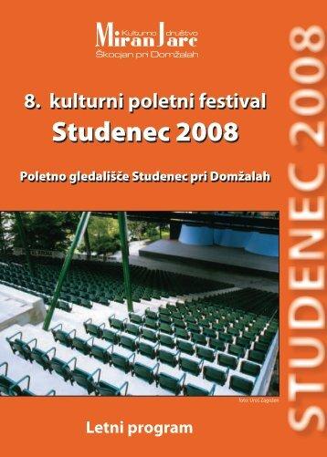 Studenec 2008