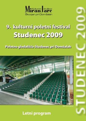 Studenec 2009