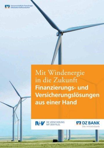 VerbundBroschüre Windenergie R+V und DZ BANK